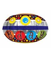 """18"""" Happy Birthday Disc"""