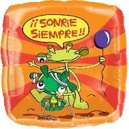 "18"" Aliens Sonrie Siempre"