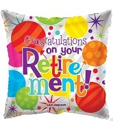 """18"""" Congratulations On Your Retirement"""