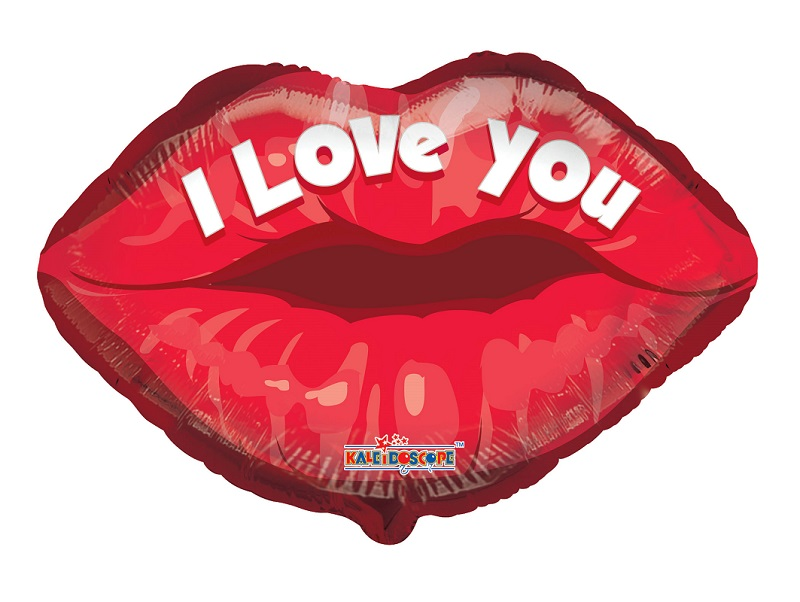 "18"" I Love You Lips"