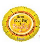 """18"""" Hope your Day is Bright"""