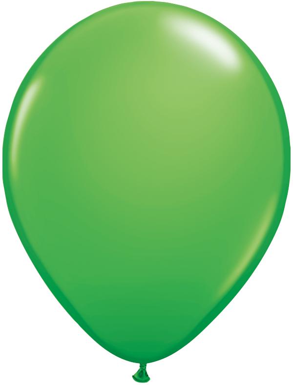 "11"" Spring Green 100 Count Qualatex Plain Latex"