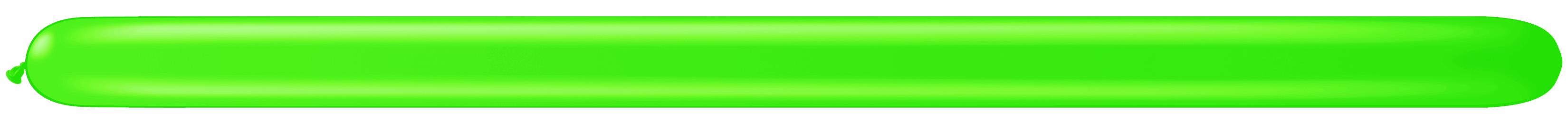 260Q Spring Green Twister Balloons 50 Count Q-PAK