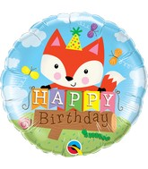 """18"""" Packaged Birthday Party Fox"""