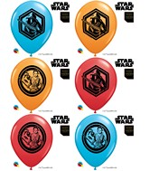 """11"""" Special Assorted 25 Count Star Wars: The Force Awakens"""