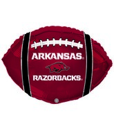 "21"" Arkansas Razorback Collegiate Football"
