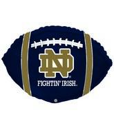"21"" Notre Dame Fightin' Irish Football"