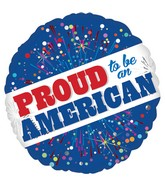 """18"""" Proud to Be American Balloon"""