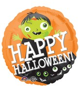 "18"" Happy Halloween Zombie Balloon"