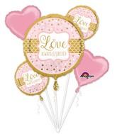 Bouquet Sparkling Wedding Balloon