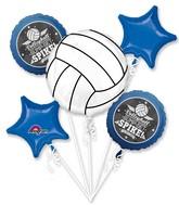 Bouquet Volleyball Bump Set Spike Balloon