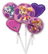 Bouquet Paw Patrol - Skye & Everest Balloon