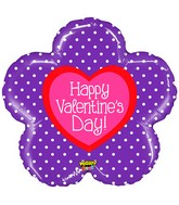 "30"" Mighty Bright Shape Mighty Valentine Flower"