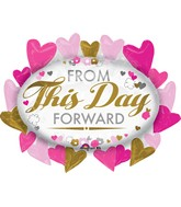 """31"""" From This Day Forward Marquee Balloon"""