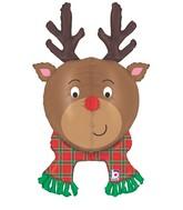 """35"""" Multi-Sided Foil Shape Dimensionals™ Reindeer"""