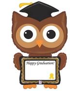 """46"""" Shape Packaged ReMARKables Owl Grad"""