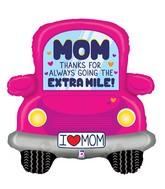 "31"" Foil Shape Thanks Mom Car"