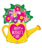 """32"""" Foil Shape Mother's Day Garden Watering Can"""