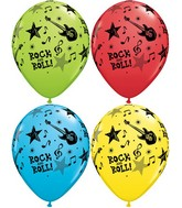 "11"" Special Assorted 50 Count Rock And Roll Stars"