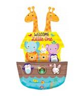Baby Shower Noah's Ark Foil Balloon