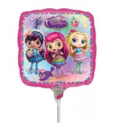 """9"""" Airfill Only Little Charmers Foil Balloon"""