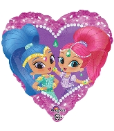 Shimmer and Shine Mylar Balloons