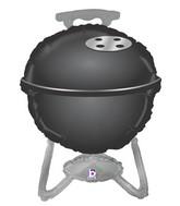 """32"""" Foil Shape BBQ Grill - Black"""