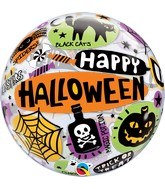 """22"""" Single Bubble Halloween Messages & Icons"""