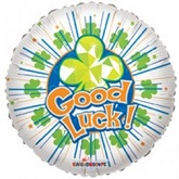 """18"""" Good Luck and Best Wishes Balloons"""