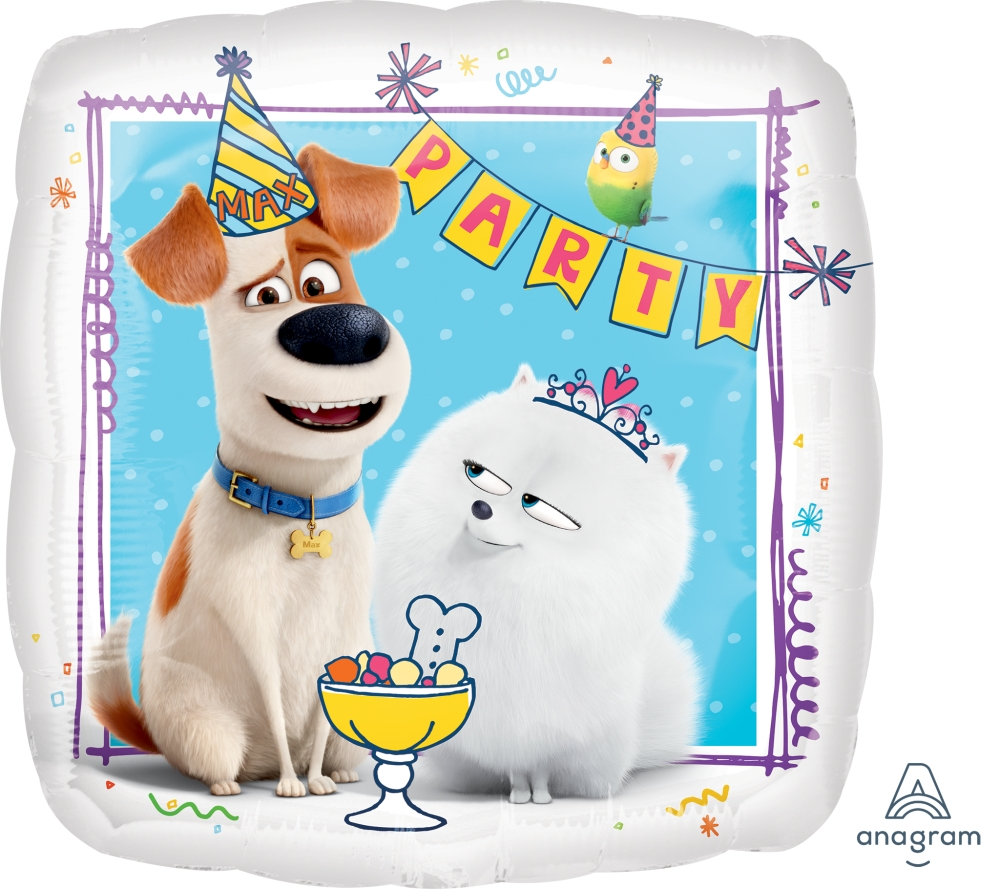 "28"" Party The Secret Life Of Pets Foil Balloon"