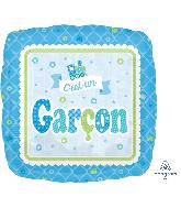 """18"""" Welcome Cest Un garcon Balloon"""