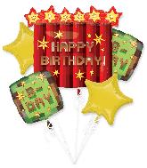 Bouquet Tnt Party Balloon