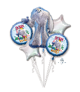 Small Foot Mylar Balloons