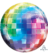 "16"" Disco Ball Orbz XL Foil Balloon"