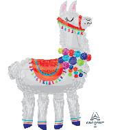 "58"" Llama AirWalkers Foil Balloon"