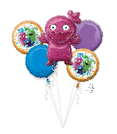 Bouquet Ugly Dolls Five Piece Balloons