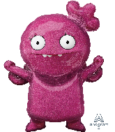 "45"" Airwalker Ugly Dolls Moxy Foil Balloon"