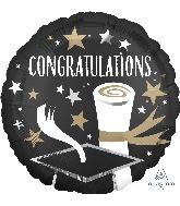"18"" Satin Infused Congratulations Grad Foil Balloon"