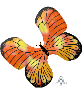 "30"" Iridescent Monarch Butterfly Foil Balloon"
