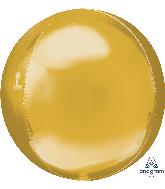 """21"""" Orbz Jumbo Gold Orbz Foil Balloon"""