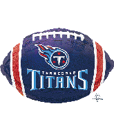 """17"""" Tennesee Titans Team Colors Junior Foil Balloon"""