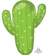 """31"""" Cactus Foil Balloon"""