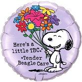 """18"""" Snoopy Tender Beagle Care Balloon"""