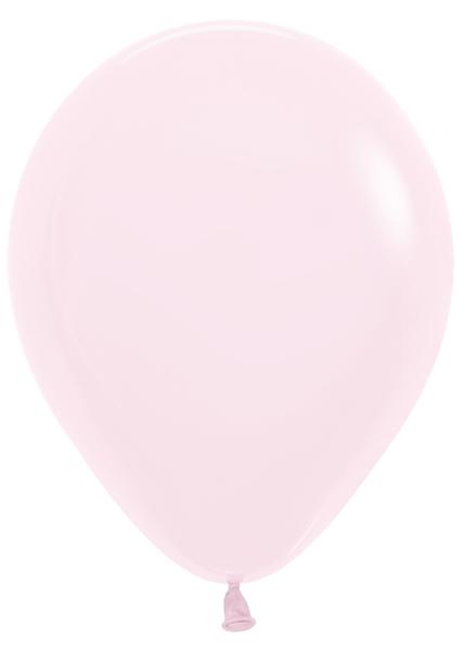 "5"" Betallatex Pastel Matte Pink Latex Balloons (100CT)"