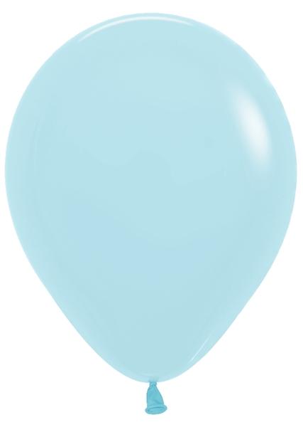 "5"" Betallatex Pastel Matte Blue Latex Balloons (100CT)"