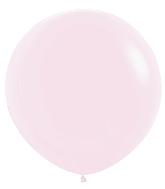 "36"" Betallatex Pastel Matte Pink Latex Balloons (2CT)"
