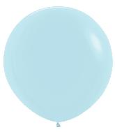 "36"" Betallatex Pastel Matte Blue Latex Balloons (2CT)"
