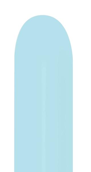 260B Betallatex Pastel Matte Blue Latex Balloons (50CT)