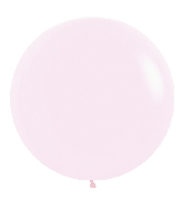 "24"" Betallatex Pastel Matte Pink Latex Balloons (10CT)"