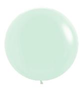 "24"" Betallatex Pastel Matte Green Latex Balloons (10CT)"